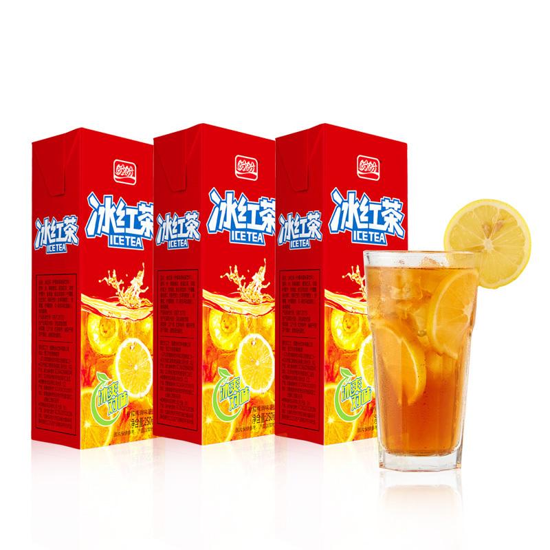 限地区: 盼盼 冰红茶 250ml*24盒 10.3元(满减优惠)