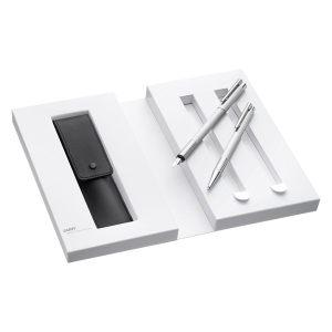 LAMY 凌美 LOGO连环系列 钢笔+圆珠笔 礼盒装 209.13元