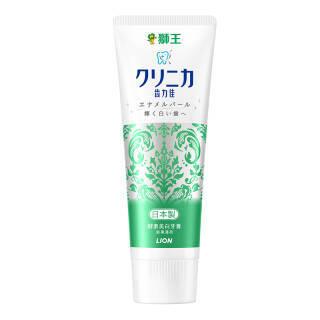 LION 狮王 齿力佳 酵素美白牙膏 鲜果薄荷 130g *9件 87.7元(合9.74元/件)