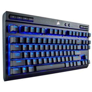 历史低价: CORSAIR 美商海盗船 K63 Wireless 87键双模机械键盘 LED背光 529元