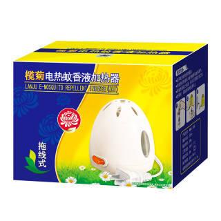 榄菊 拖线式电热蚊香液加热器 驱蚊 电蚊液 12.9元