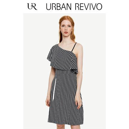 双11预告:URBAN REVIVO YU31S7EN2000 女士连衣裙 低至71.1元