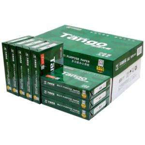 11日0点、双11预告: TANGO 天章 A4复印纸 80g 500张/包 8包/箱(共4000张) 136元包邮