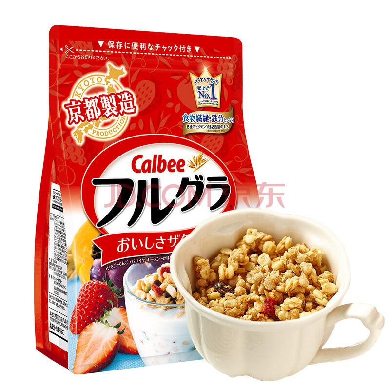 Calbee 卡乐比 水果麦片 700g +凑单品 133.22元包邮(双重优惠)