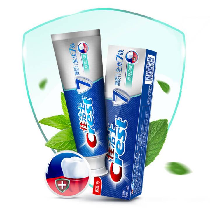 佳洁士Crest高阶全优7效根源护龈牙膏140克 14.9元