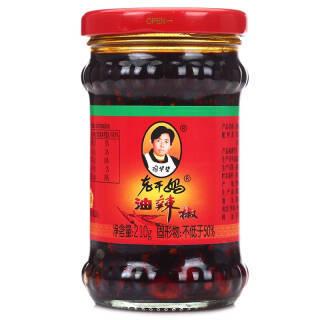 老干妈 油辣椒酱210g火锅酱料拌面下饭菜调料调味品 *9件 40.44元(合4.49元/件)