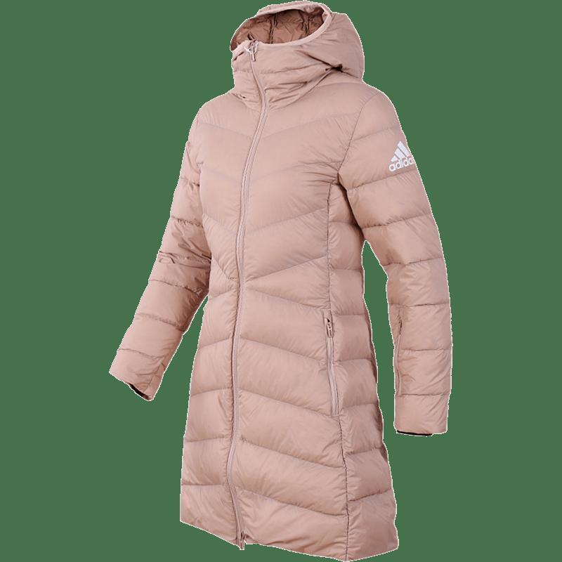 ¥394 adidas 阿迪达斯 CY8606 女款休闲羽绒服外套