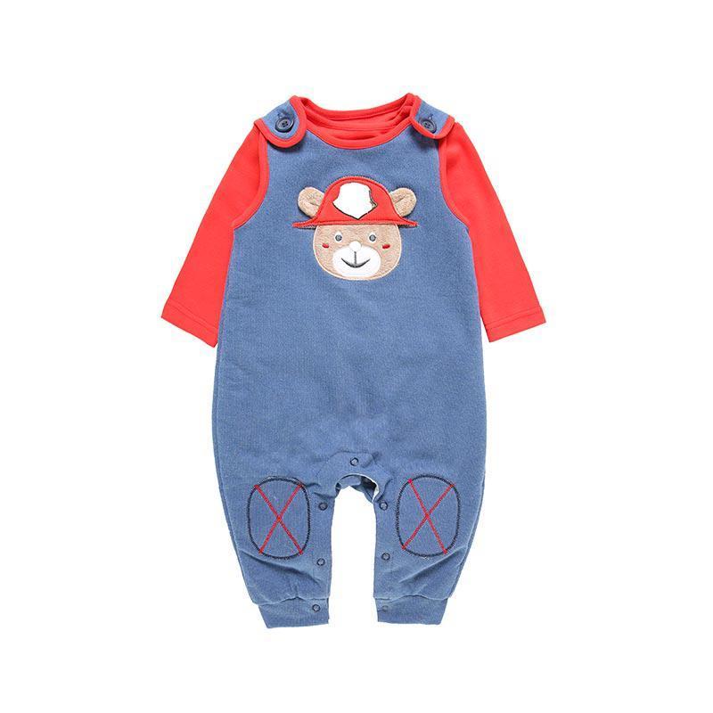 Oissie 奥伊西 婴儿纯棉T恤背带裤 2件套 低至31.8元