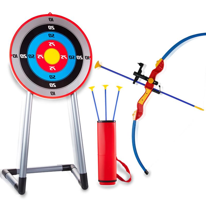 儿童弓箭玩具套装大号男孩子3宝宝吸盘射击弓弩6-8岁儿童弓箭玩具 26.9元