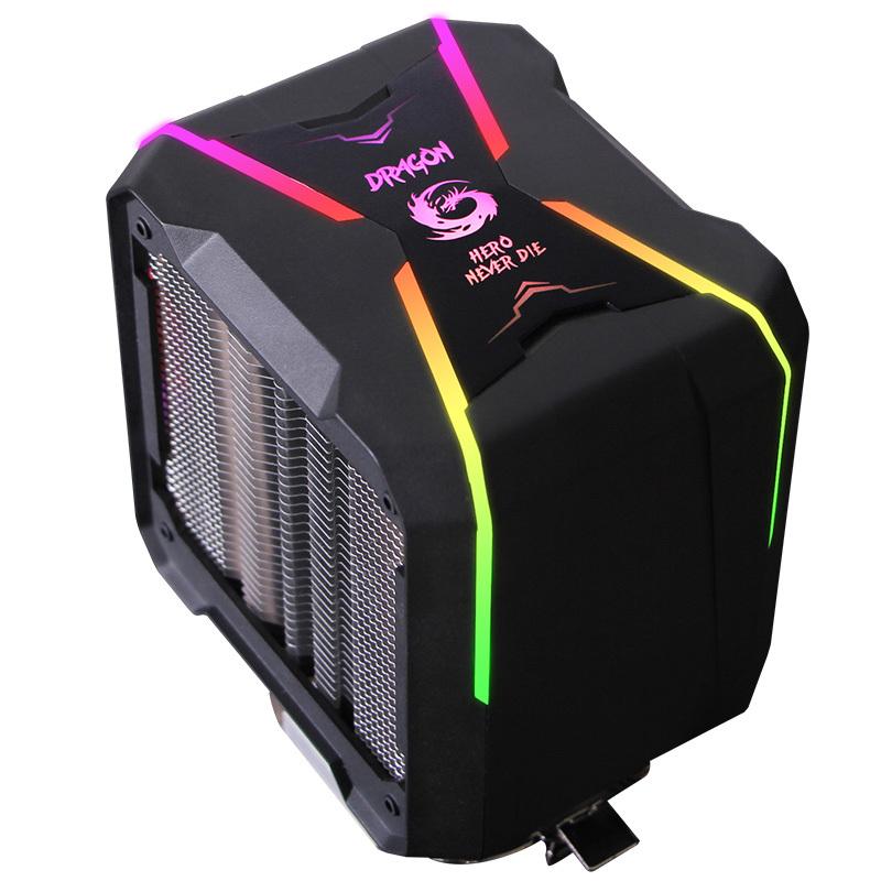 长城盖世G400cpu散热器台式机主机1155电脑静音cpu风扇RGB热管am4 149元